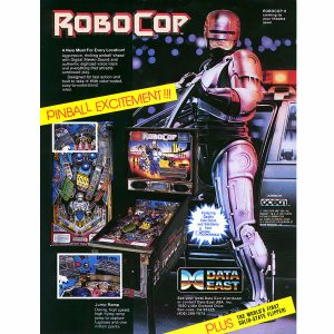 Robocop Pinball Machine Flyer 300x300 - Robocop Pinball Machine
