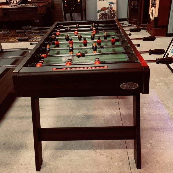 "Elite Home Gamerooms Foosball Table 3 600x600 - ""Elite Home Gamerooms"" Foosball Table"