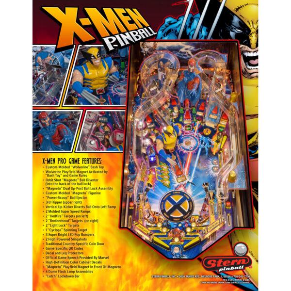X-Men Pro Pinball Machine
