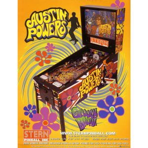 Austin Powers Pinball Machine 2 300x300 - Austin Powers Pinball Machine