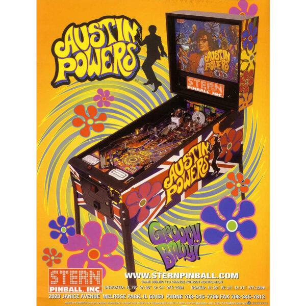 Austin Powers Pinball Machine 2 600x600 - Austin Powers Pinball Machine
