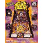 Austin Powers Pinball Machine Flyer 1