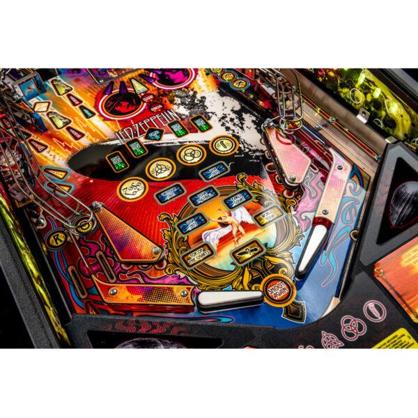 Led Zeppelin Premium Pinball 10 600x600 - Led Zeppelin Premium Pinball Machine