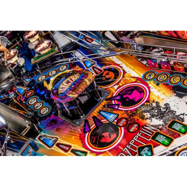 Led Zeppelin Premium Pinball 12 600x600 - Led Zeppelin Premium Pinball Machine