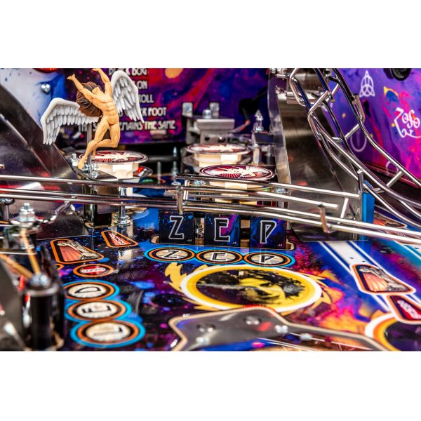Led Zeppelin Premium Pinball 14 600x600 - Led Zeppelin Premium Pinball Machine