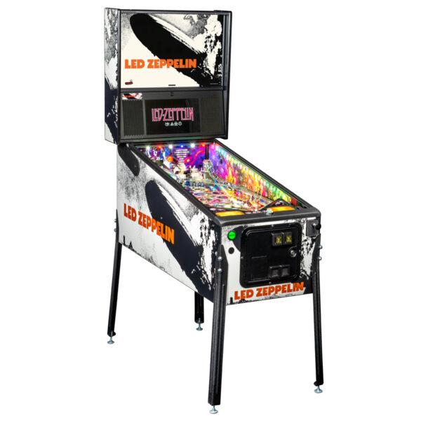 Led Zeppelin Premium Pinball 2 600x600 - Led Zeppelin Premium Pinball Machine