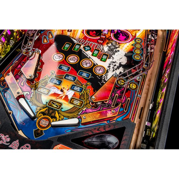 Led Zeppelin Premium Pinball 9 600x600 - Led Zeppelin Premium Pinball Machine