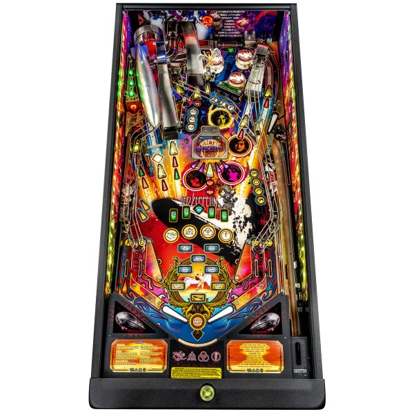 Led Zeppelin Premium Pinball Playfield 600x600 - Led Zeppelin Premium Pinball Machine