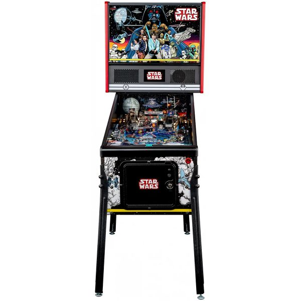 Star Wars PIN Comic Art Pinball Machine 1 600x600 - Star Wars PIN Comic Art Pinball Machine