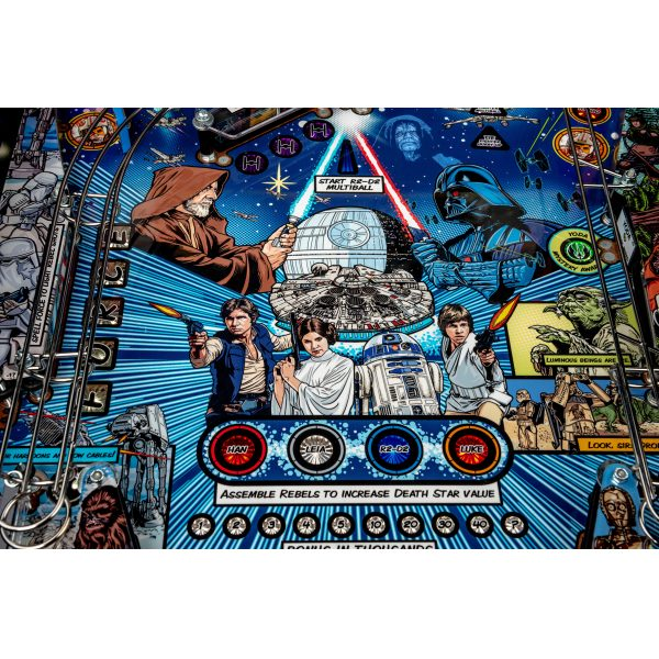 Star Wars PIN Comic Art Pinball Machine 3 600x600 - Star Wars PIN Comic Art Pinball Machine