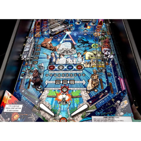 Star Wars PIN Comic Art Pinball Machine 4 600x600 - Star Wars PIN Comic Art Pinball Machine