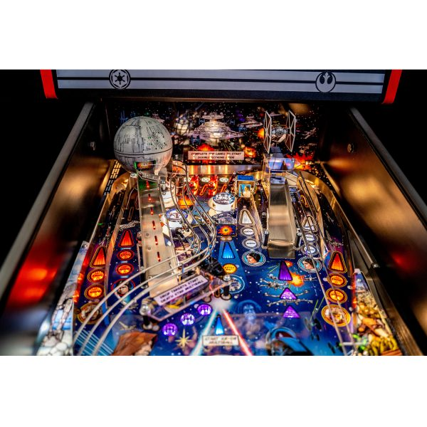 Star Wars PIN Comic Art Pinball Machine 5 600x600 - Star Wars PIN Comic Art Pinball Machine