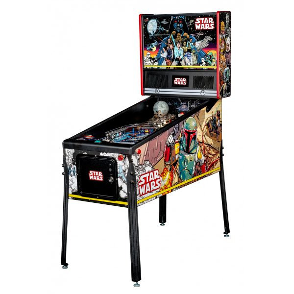 Star Wars PIN Comic Art Pinball Machine Cover 600x600 - Star Wars PIN Comic Art Pinball Machine