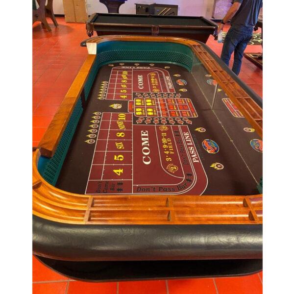 Elite Casino Craps Table 1 600x600 - Casino Grade Craps Table 9-Foot