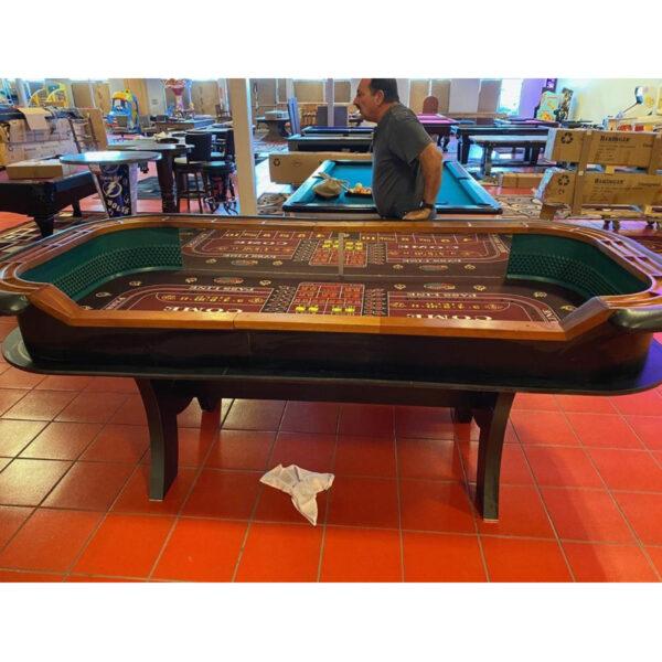Elite Casino Craps Table 3 600x600 - Casino Grade Craps Table 9-Foot