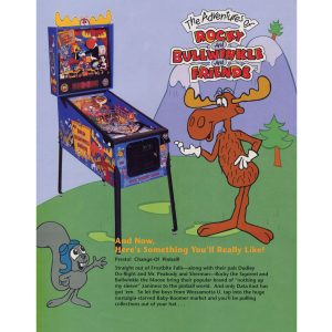 Rocky and Bullwinkle Pinball