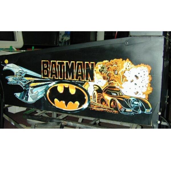 Batman Pinball Data East 2 600x600 - Batman Pinball Machine - Data East