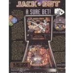 Jack Bot Pinball Machine Flyer 1