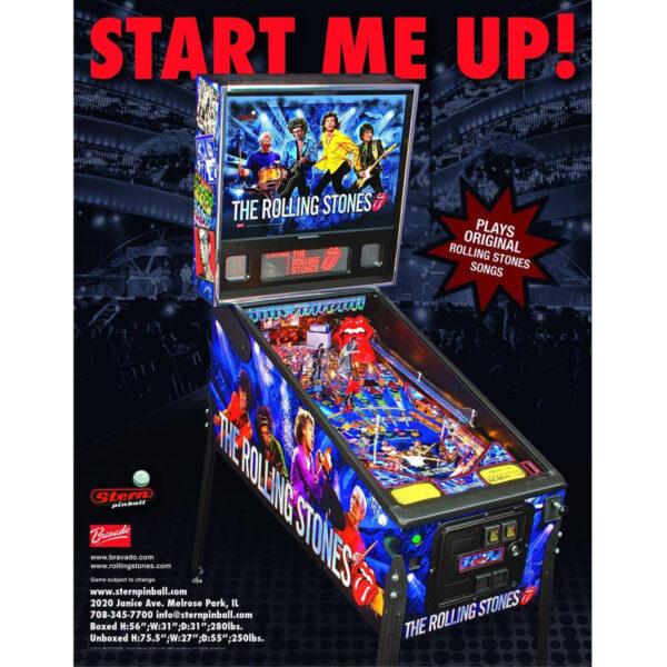 Rolling Stones Pinball Machine 2 600x600 - Rolling Stones Pinball Machine - Upgraded!