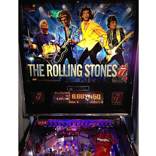 Rolling Stones Pinball Machine 3 600x600 - Rolling Stones Pinball Machine - Upgraded!