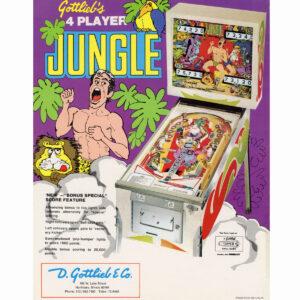 Jungle Pinball Machine
