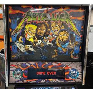 Metallica Pro Pinball Upgraded
